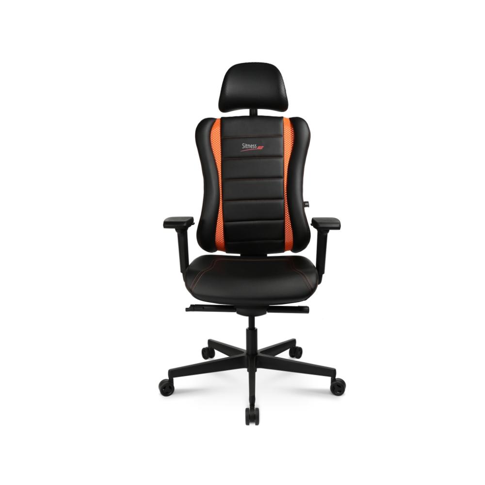 Gaming Stuhl Topstar Sitness RS Pro schwarz-orange TW Armlehne