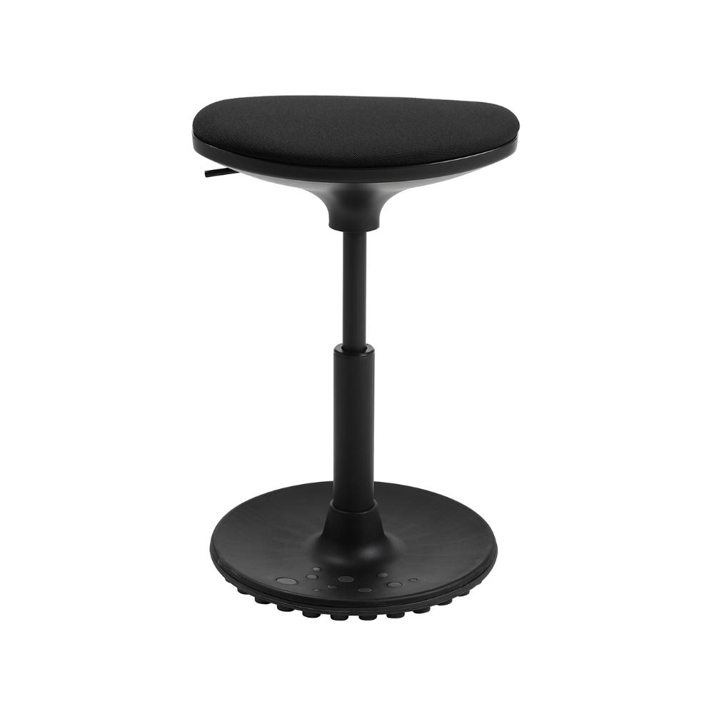 Bürohocker Living Chairs Stego 10 schwarz