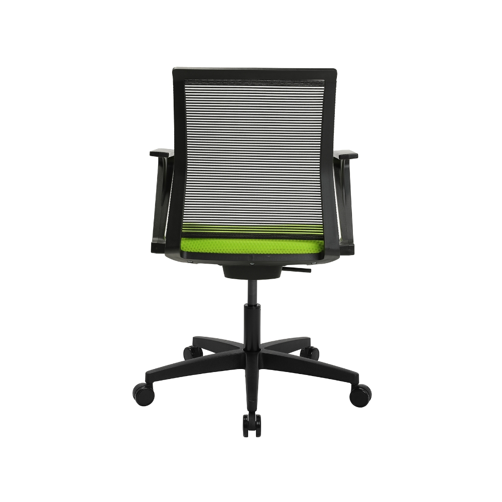 Home-Office Stuhl Sitness Smart Point grün mit fester Armlehne