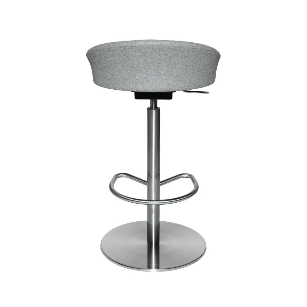 Barhocker Topstar Sitness Home 7.6 - Metall - grau