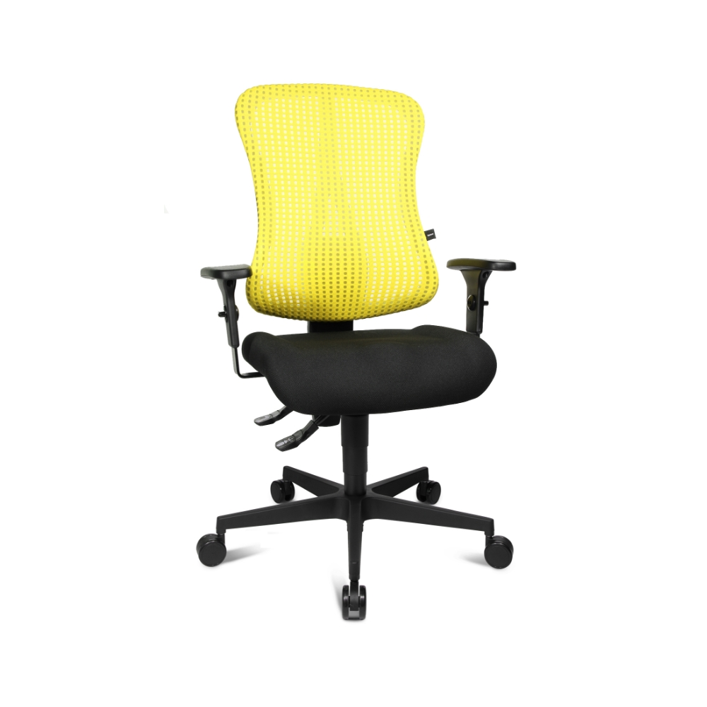Bürostuhl Topstar Sitness 90 gelb