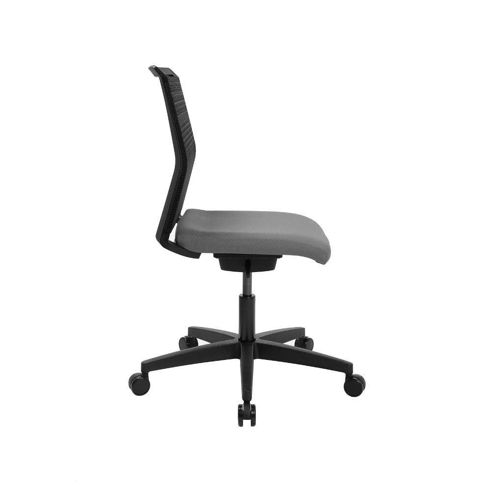 Home-Office Stuhl Sitness Smart Point hellgrau ohne Armlehne