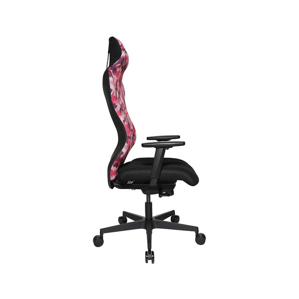 Gaming Stuhl Topstar Sitness RS Sport camouflage pink