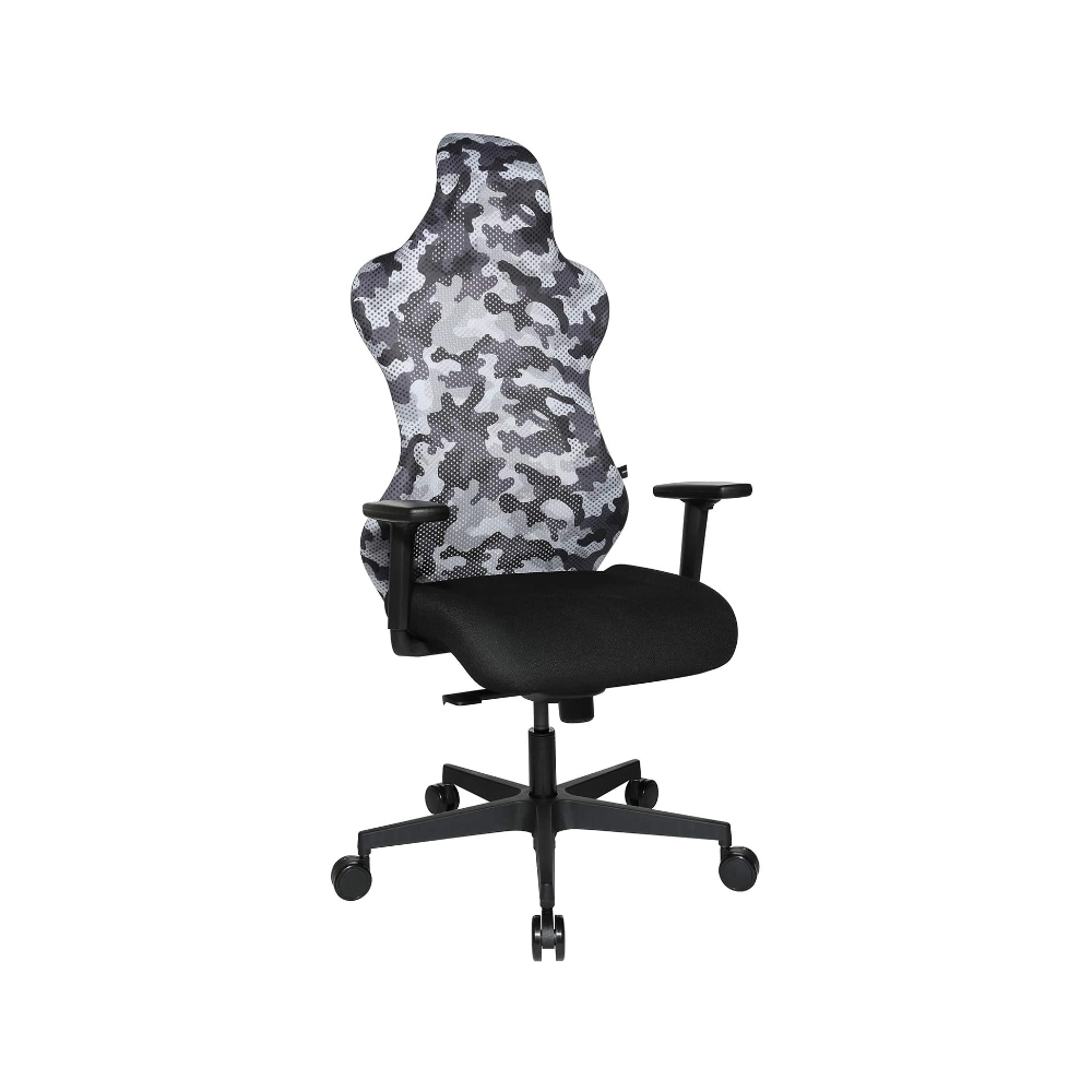 Gaming Stuhl Topstar Sitness RS Sport camouflage weiss-grau