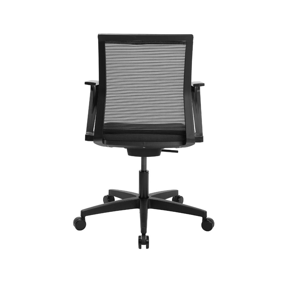 Home-Office Stuhl Sitness Smart Point anthrazit mit fester Armlehne