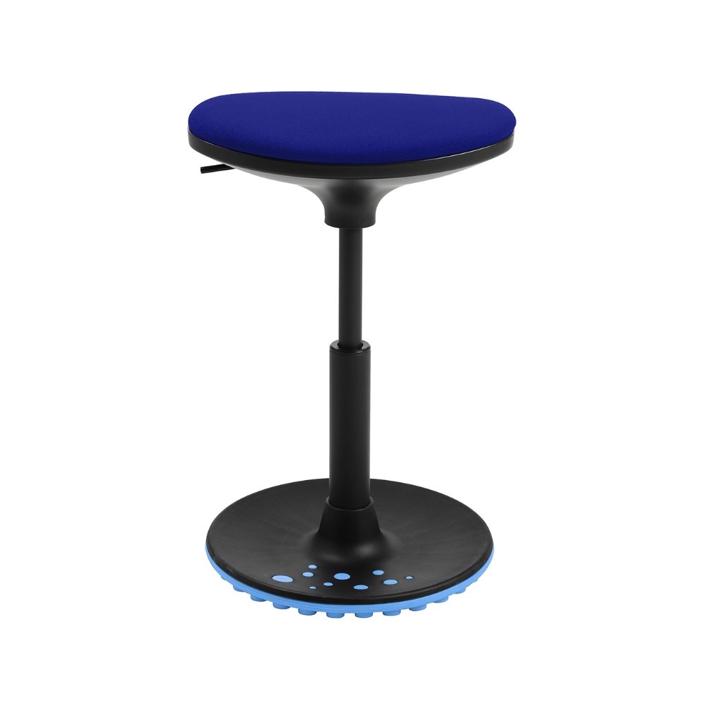 Bürohocker Living Chairs Stego 10 blau