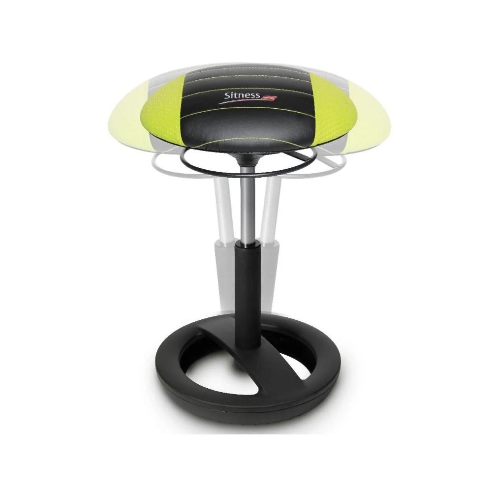 Gaming-Hocker Topstar Sitness RS Pro Bob schwarz/gelb