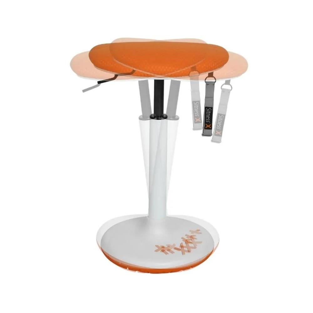 Bürohocker Topstar Sitness X Stool 30 orange