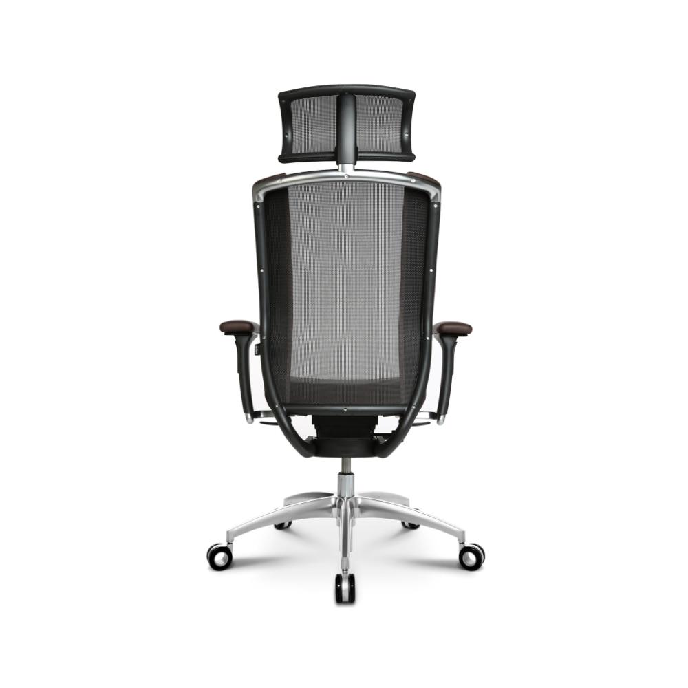 Premium Bürostuhl Wagner Titan Limited dunkelbraun
